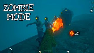 ZOMBIE MODE | PUBG MOBILE ZOMBIE MODE GAMEPLAY WITH FLAMETHROWER