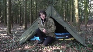 WILD CAMP WITH LAVVU TENT AND HOW TO MAKE BANNOCK BREAD