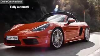 Porsche Boxster 718 S 2018