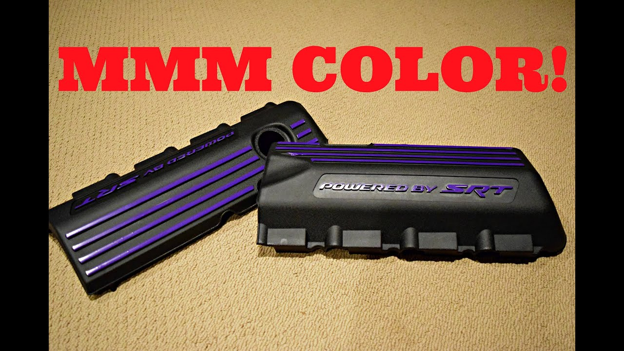 6.4L HEMI Engine Cover Vinyl Overlay Kit - Graphic Signworks - YouTube