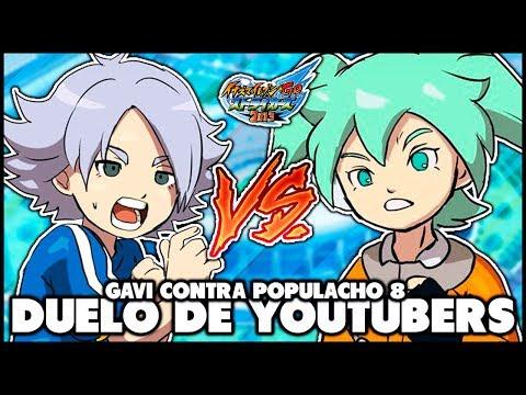 ¡¡¡EL PARTIDO MAS EPICO!!! ... GAVI VS POPULACHO | DESAFIO INAZUMA ELEVEN