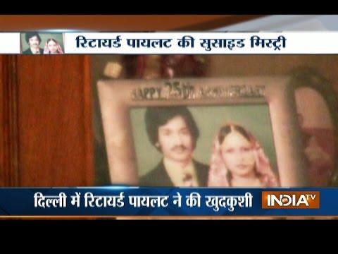 Retired Jet Airways Pilot Killed Himself In Delhi's Mayur Vihar