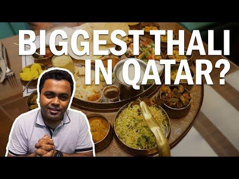 Experience The Biggest Thali at Roti & Boti in Doha, Qatar