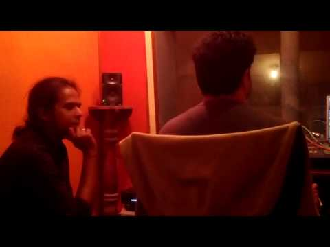 AGAM - 2nd album tracking sessions - Song 1