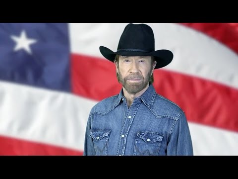 GOP So Desperate That Chuck Norris Is On The Campaign Trail