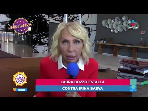 Exclusiva: ¡Laura Bozzo estalla contra Irina Baeva! | Sale el Sol