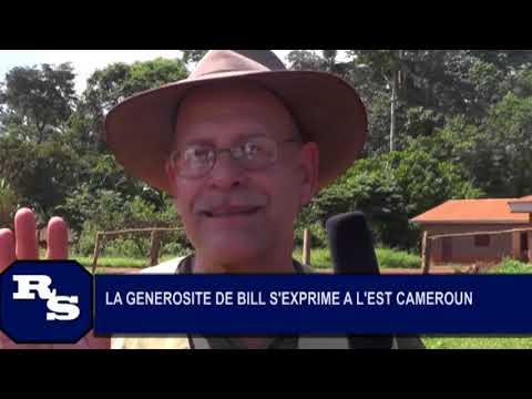 Geovic Mining's Bill Buckovic is interviewed in Cameroon