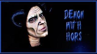 Halloween makeup tutorial easy to do Demon | Silvia Quiros