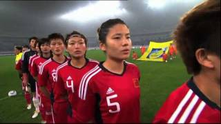 Women: Japan vs China PR, 2012 London Olympics Asian Qualifiers