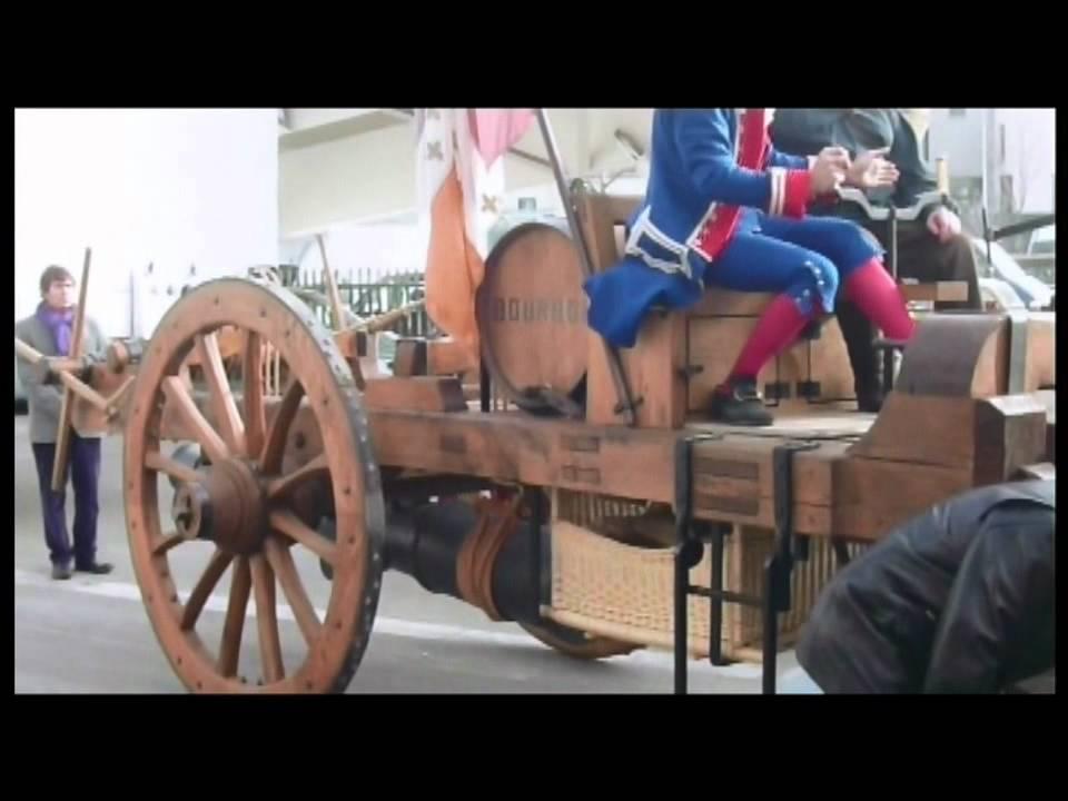 fardier de cugnot 1770 first automotive in world premi re voiture au monde youtube. Black Bedroom Furniture Sets. Home Design Ideas
