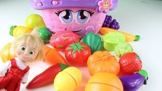 Maşa İle Koca Ayı Meyve Sebzeleri Öğreniyor Maşa İzle