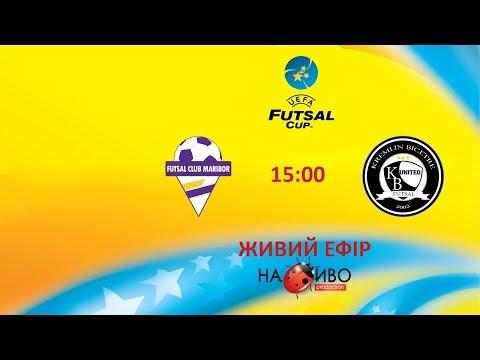|LIVE|SD Brezje Maribor (SLOVENIA) - Kremlin United (FRANCE)|UEFA Futsal Cup|Main round|15.10.2016