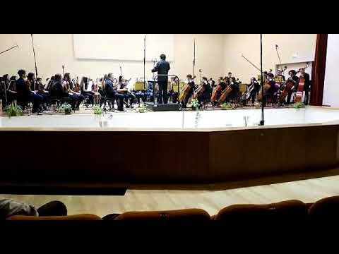 Orchestra Sinfonietta Young Conservatorio Cimarosa Avellino Maestro Massimo Testa -
