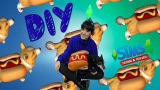 DIY I Hunde Hot Dog Kostüm aus Die Sims 4