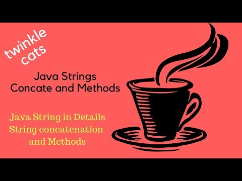 4. Java String: Concatenation and Methods