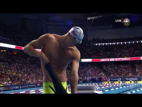 Michael Phelps 200m Butterfly Final