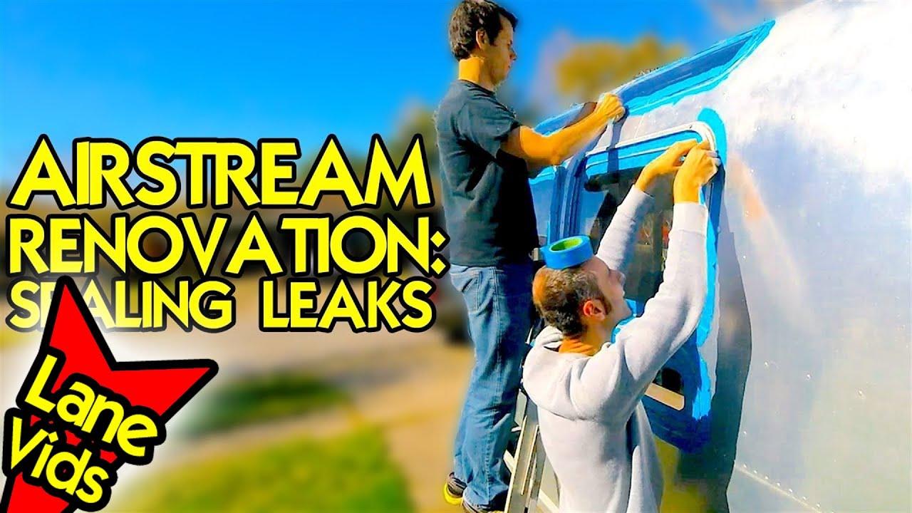 AIRSTREAM RESTORATION: SEALING WATER LEAKS