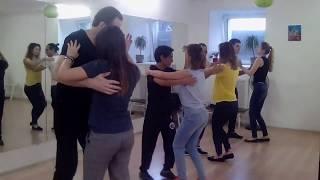Сальса в Школе танцев Чино - Урок для начинающих