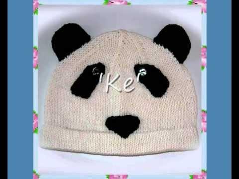 Ke Panda Animal Bear Hat Aran And Dk Knitting Pattern Youtube