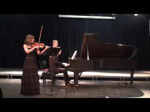 Faure Sonata no.1 in A-major/Dina Nesterenko & Matthieu Cognet/Stony Brook University