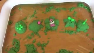 Кинетический песок Детское видео