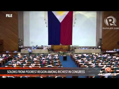 Solons from poorest region among richest in Congress