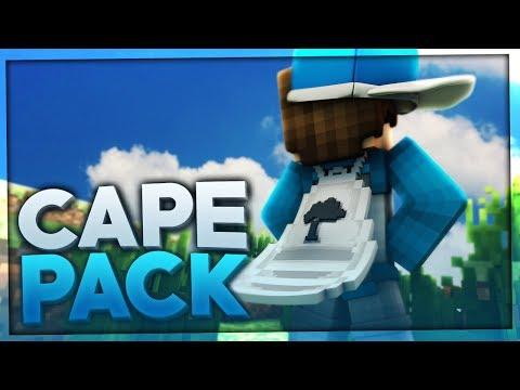 MINECRAFT CAPE PACK REALEASE! Mein CAPE in allen FARBEN!!! | BaumBlau
