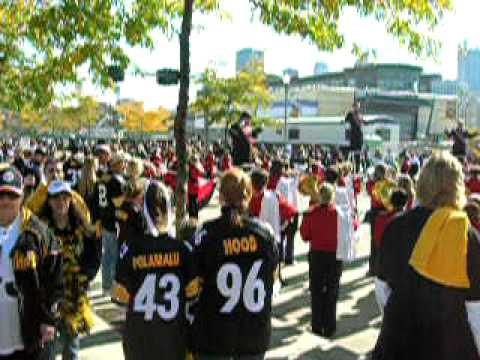 Tailgating at Heinz Field