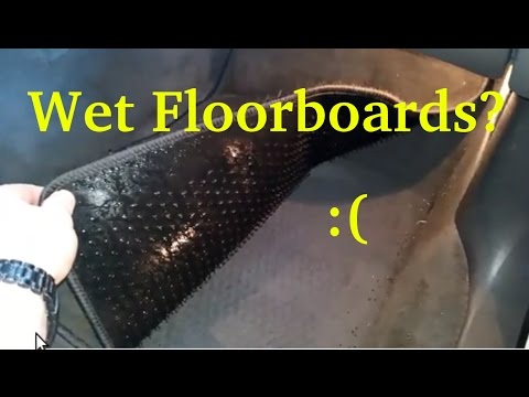 Why your floor may be wet on the passengers side of your car! Fix it for good!