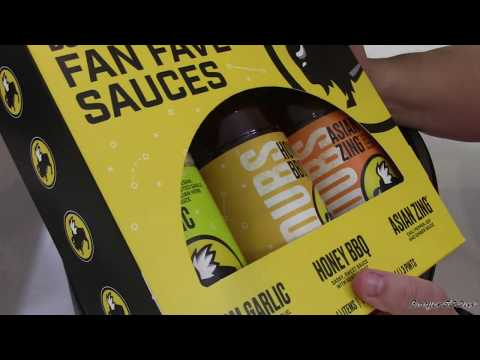 BUFFALO WILD WINGS FAN FAVE SAUCES REVIEW AIR FRYER