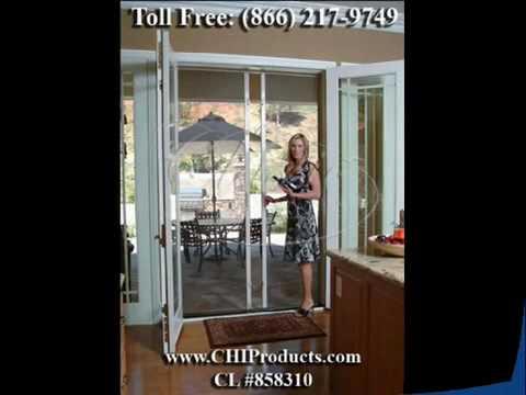 Stowaway In Swing French Door Retractable Screens Toll Free 866 217 9749