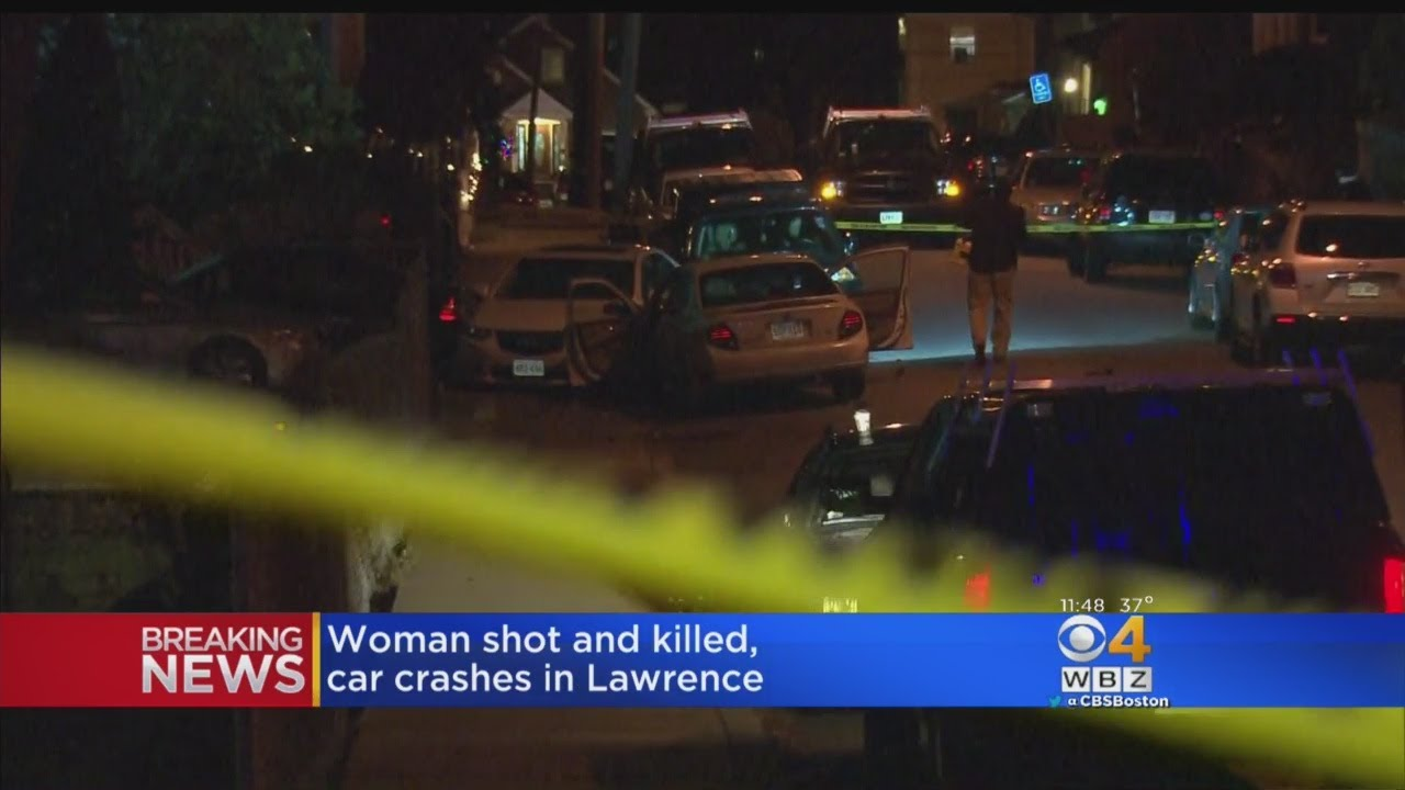 Woman Dead After Lawrence Car Crash, Shooting