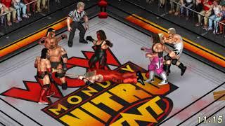 Fire Pro Wrestling World Sims - WCW LEGENDS BATTLE ROYAL