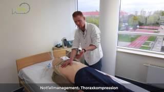Notfallmanagement: Wie führe ich eine Herzdruckmassage durch?