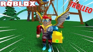 Deleting Everyone in ROBLOX... / Trolling with Hacks