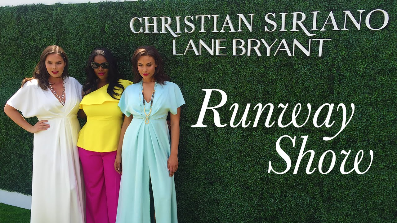 Plus-Size Fashion Show: Christian Siriano for Lane Bryant - YouTube