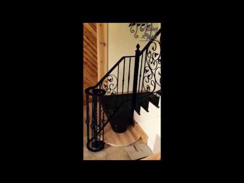Welding Project: In-house railing. Welding Xpress