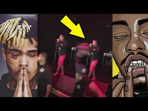XXXTentacion PUNCHED by Rob Stone ON STAGE on VIDEO in San Diego