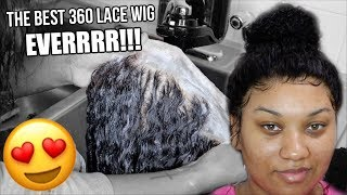 UNDETECTABLE LACE!!! *NO GLUE* 360 Lace Wig Install Start ➡︎ Finish! Ft. OMGHerHair