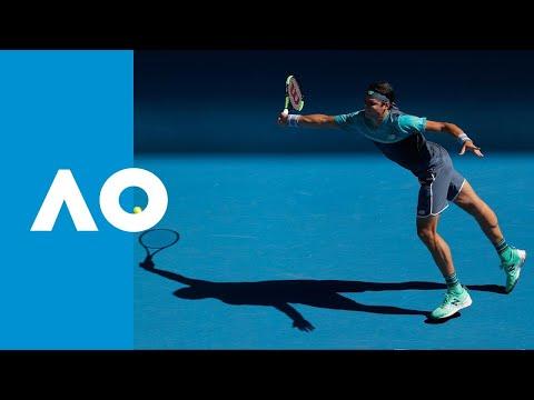 Milos Raonic v Pierre-Hugues Herbert second set highlights (3R) | Australian Open 2019