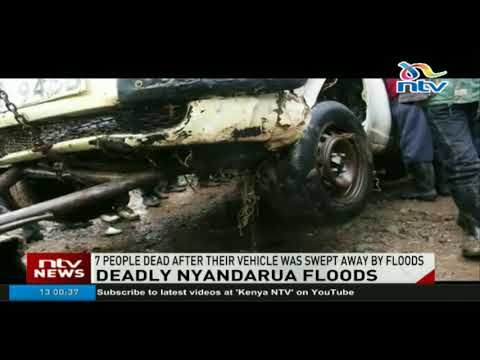 7 people dead after their vehicle was swept away by floods