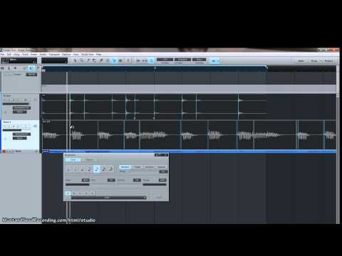 Studio One V2 Audio Timing Training (Part 1)