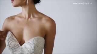 Атласные свадебные платья ❤