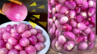 [Eng sub] Dưa hành - Simplest Pickled Shallots recipe