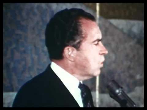 Nixon Discusses Welfare 1968