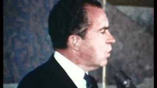 Nixon Discusses Welfare 1968