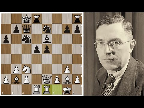 Макс Эйве побеждает Рети в лучших традициях гипермодернизма!Шахматы.