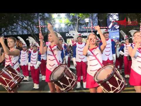 Shanghai Tourism Festival Opening Parade 2014 - Orkiestra Grandioso Radom POLAND