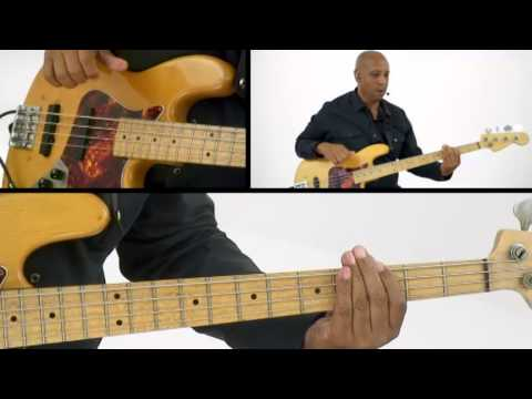 Blues Bass Lesson - #30 Funk Slap Style - Andrew Ford