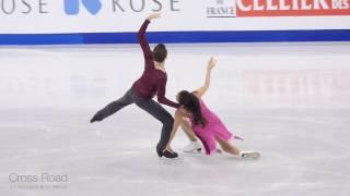 민유라 & 알렉산더 겜린 (KOR) Yura MIN & Alexander GAMELIN | FD | 2017-02-17 4CC Ice Dance